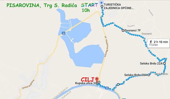 Karta 8. Kupske atletske utrke Memorijal Julije Boroša